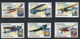 Caribbean Is 2010 Airplanes, Shanghai Expo MUH - Cuba