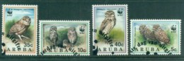 Aruba 1994 WWF Owls FU Lot81623 - West Indies
