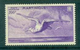Martinique 1947 Birds, Albatross 200fr MLH - Martinique (1886-1947)
