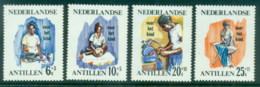 Netherlands Antilles 1966 Child Welfare Nurse MUH - West Indies