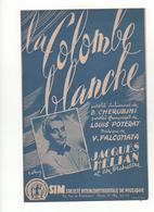 Partition La Colombe Blanche Jacques Hélian - Scores & Partitions