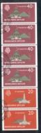 Netherlands Antilles 1977 Building Booklet Pane 5 FU - West Indies