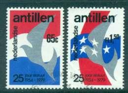 Netherlands Antilles 1979 Constitution Anniv. FU Lot47104 - West Indies