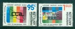 Netherlands Antilles 1979 Cultural Foundation Centre FU Lot47103 - West Indies