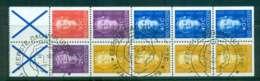 Netherlands Antilles 1979 Queen Juliana 4x5c, 10c, 2x25c, 3x 40c + 2x Labels Booklet Pane FU Lot47091 - West Indies