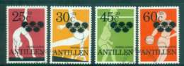 Netherlands Antilles 1980 Moscow Olympics FU Lot47113 - West Indies
