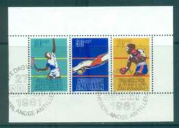 Netherlands Antilles 1981 Sporting Events MS FU Lot47118 - West Indies