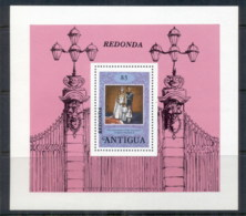 Redonda 1978 QEII Coronation 25th Anniversary MS MUH - West Indies