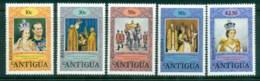 Redonda 1978 QEII Coronation, 25th Anniversary Opt, Royalty MUH - Antilles