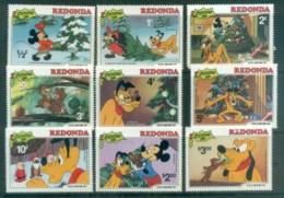 Redonda 1981 Disney, Xmas  MUH Lot77493 - West Indies