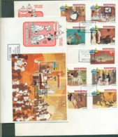 Redonda 1982 Disney, 101 Dalmatians 3x FDC Lot78915 - West Indies