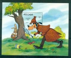 Redonda 1984 Disney, Easter, Goofy MS MUH Lot79045 - West Indies
