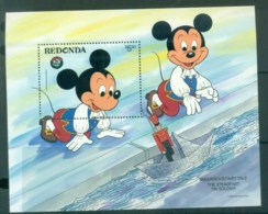 Redonda 1984 Disney, Xams, The Steadfast Soldier MS MUH Lot79047 - West Indies