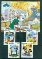 Redonda 1985 Disney, Mark Twain Characters + MS MUH Lot79041 - West Indies