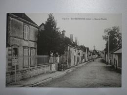 10 Bourguignons, Rue Du Moulin. Carte Inédite (4787) - Autres Communes