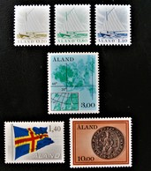 ALAND - ASPECTS DE L'ARCHIPEL 1984 - NEUFS ** - YT 1/6 - MI 1/6 - Finland