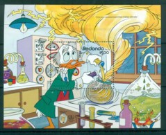 Redonda 1985 Disney, Mark Twain Characters MS MUH Lot79042 - West Indies