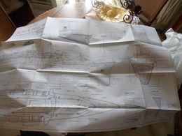 Documents ANCIENS  Cartes PAQUEBOT FRANCE.je Ne Connais Rien Sur Les Cartes. Une Doit Etre Ancienne Elle Entiere Mais A - Model Making