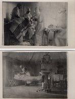 CPA 2369 - MILITARIA - Carte Photo Militaire X 2 - Guerre 14 / 18 - Salle D'Opération - War 1914-18