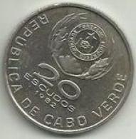 20 Escudos 1982 Cabo Verde - Cap Vert