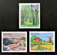 ALAND - PAYSAGES 1985 - NEUFS ** - YT 11/13 - MI 11/13 - Finland