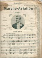 Livret De PARTITION   Marche Aviation Avec 5 Titres  De Chanson - Scores & Partitions