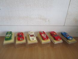 6 Miniatures Voitures De Course Le Mans Safir Champion Elf - Scale 1:76
