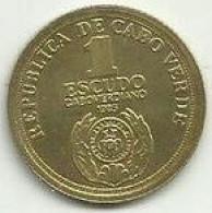 1 Escudo 1985 X Anv. Independencia Cabo Verde - Cabo Verde