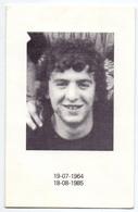 Devotie - Doodsprentje Overlijden - Johan Delrue - Menen 1964 - Ongeval Roeselare 1985 - Obituary Notices