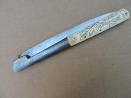 "Important Couteau Corse . Vendeta ""76 VERITABLE BERNARD"" - Knives/Swords"
