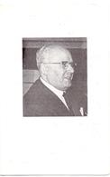 Devotie - Doodsprentje Overlijden - Directeur Uitgeverij Desclée De Brouwer Jean Demoulin - Gilly 1903 - Brugge 1976 - Obituary Notices