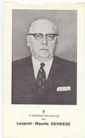 Devotie - Doodsprentje Overlijden - Dokter Leopold Devriese - Pittem 1903 - Kortrijk 1979 - Obituary Notices
