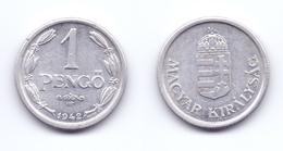 Hungary 1 Pengo 1942 - Hungary