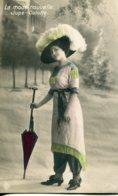 RUSSIA -  Fashion - La Mode Nouvelle Jupe-Culotte -  VG Postmarks & Stamps 1911 - Interesting Message - Fashion