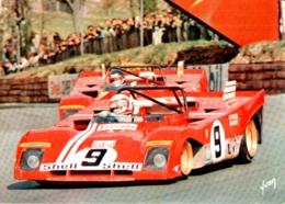SPORT AUTOMOBILE , 1000 Km De Brands Hatch 1972 , FERRARI 312P /72 - Grand Prix / F1