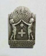 SVIZZERA / SUISSE / SWITZERLAND - ABBAYE D' YVERDON - FETE Des ENFANTS / Epingle - Spilla - Pin (34x23mm) - Pin's