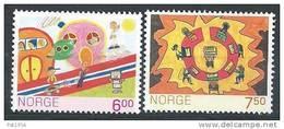 Norvège 2005 N°1470/1471 Neufs** Dessins D'enfants - Neufs