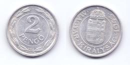 Hungary 2 Pengo 1943 - Hungary