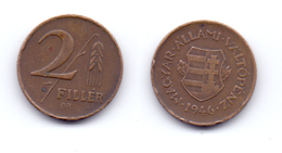 Hungary 2 Filler 1946 First Republic - Hungary
