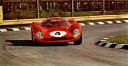 SPORT AUTOMOBILE , 24 HEURES DU MANS , FERRARI P4 , Carte 16X8,5 Cm , L'auto Journal - Le Mans