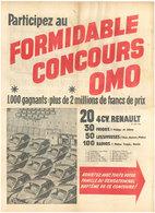 Concours 4cv Renault  1956 - Publicité