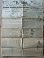 Journal Le Matin (23 Juil 1918) Désarroi Allemand - Procès M. Malvy - Dans Château Thierry - Altri