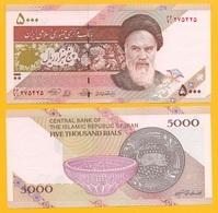 Iran 5000 Rials P-152a 2013 UNC - Iran