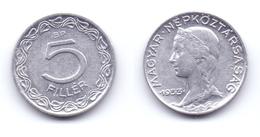 Hungary 5 Filler 1953 - Hungary