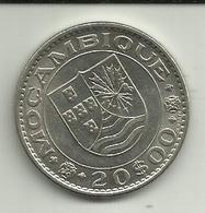 20 Escudos 1971 Moçambique - Mozambique