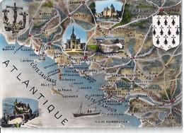 CPA COTE SAUVAGE / COTE D'AMOUR - Maps