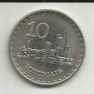 10 Meticáis 1980 Moçambique - Mozambique