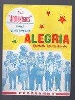 Eauze  ( 32 Gers) Programme LES ARMAGNACS (c1964) (PPP9663) - Programs