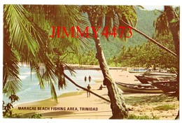 CPSM TARJETA - Port Of Spain TRINIDAD Antilles - MARACAS BEACH FISHING AREA - Ace Printery - Trinidad