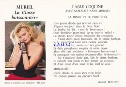 """CPM    """"  MURIEL - La CLASSE BUISSONNIERE - FABLE COQUINE Avec MORALITE Sans MORALE - Fairy Tales, Popular Stories & Legends"""